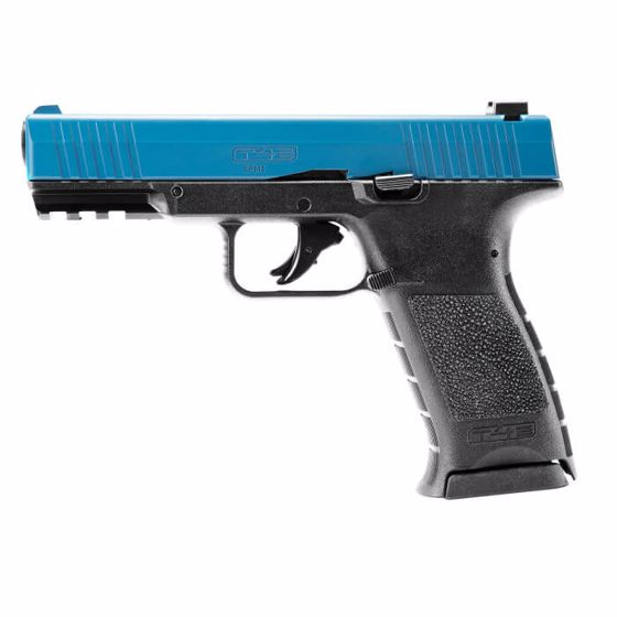 Picture of T4E TPM1 LE BLUE TRAINING PISTOL .43 CALIBER PAINTBALL MARKER